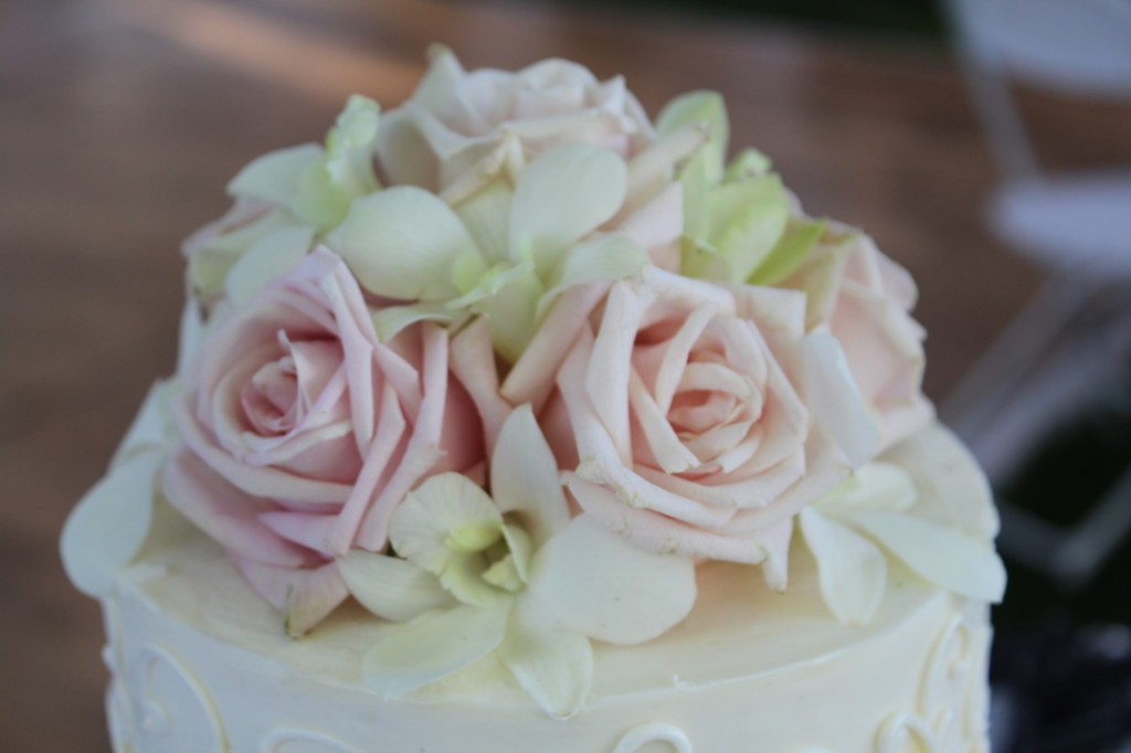 Custom Flower Cake Topper