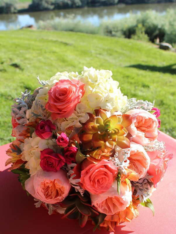 Assorted Flowers Bouquet Made By Boise Events