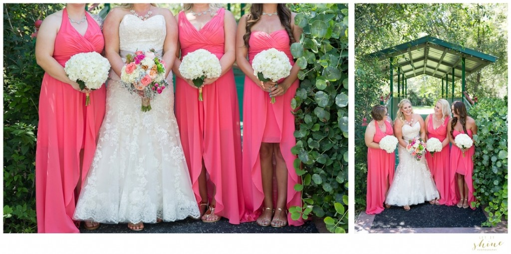 Coral & White Wedding Design