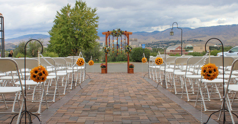 Wedding Isle Decor Boise Events